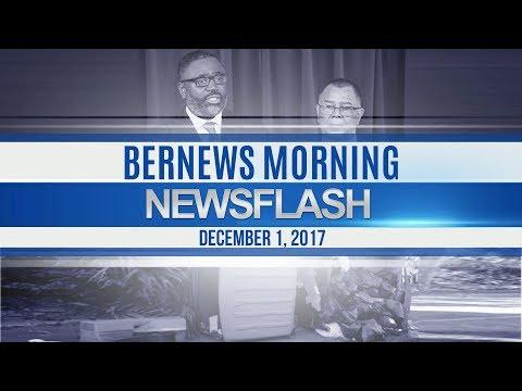 Bernews Morning Newsflash For Friday December 1, 2017