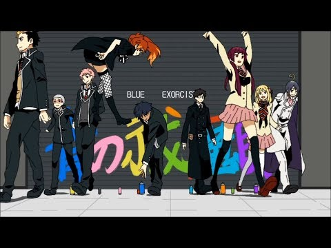 【MAD】Blue Exorcist Opening『Mekakucity Actors』