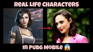 PUBG Mobile - Real Life Characters In Pubg (Part 2) | Sara Character in real life 😍