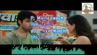 MAINE SO CHLIYA Hindi karaoke for Male singers