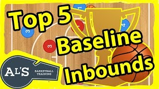 Top 5 Game Winning Basketball Baseline Inbounds Plays