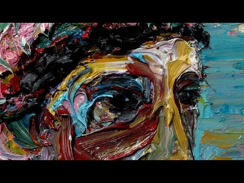 x1102 - original oil painting large impressionist art realism arts portrait impasto unique