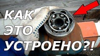 видео Граната ВАЗ 2109: причины хруста, способы диагностики, ремонт