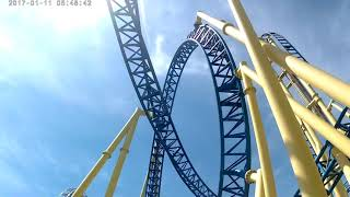 Knoebels Amusement Park - Elysburg PA - Impulse Roller Coaster POV and Flume Ride
