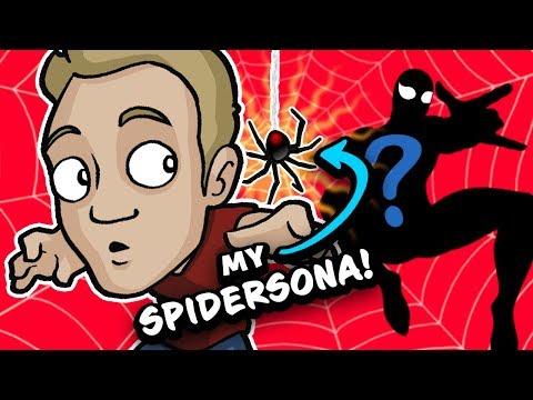 Drawing MY SPIDERSONA - Aussie Artist becomes SPIDERMAN!!