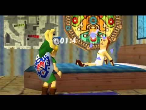 Ledgend Of Zelda: Majoras Mask. Postman Heart Piece - YouTube
