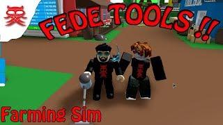 Nye Tools - Farming Sim - Dansk Roblox