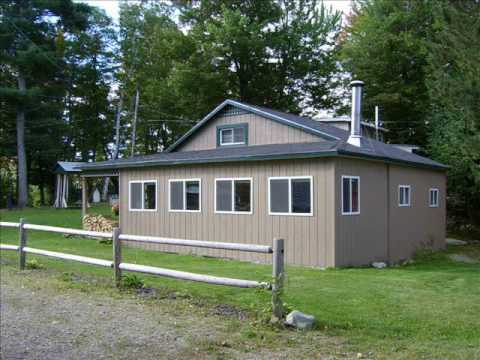 ellis pond roxbury maine cottage for sale youtube