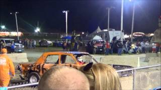 Vermont State Fair Demolition Derby HIGH OCTANE