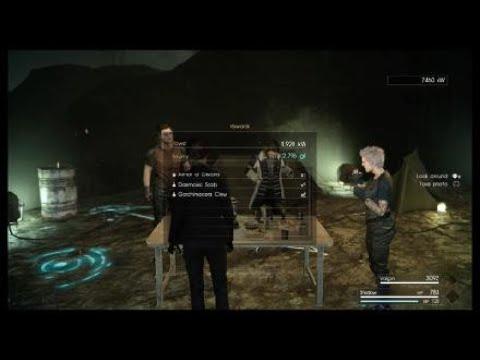 FINAL FANTASY XV-Comrades multiplayer DLC- A Secret Experiment mission