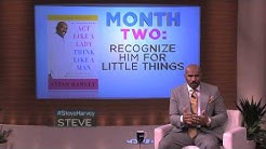 Steve Harvey's 3 month plan to get a man!