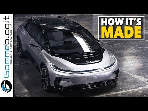 Faraday Future FF 91 | 2019 | HOW IT'S MADE the 1050 HP Tesla Model S KILLER
