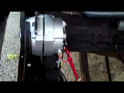 Generator To Alternator Coversion YouTube