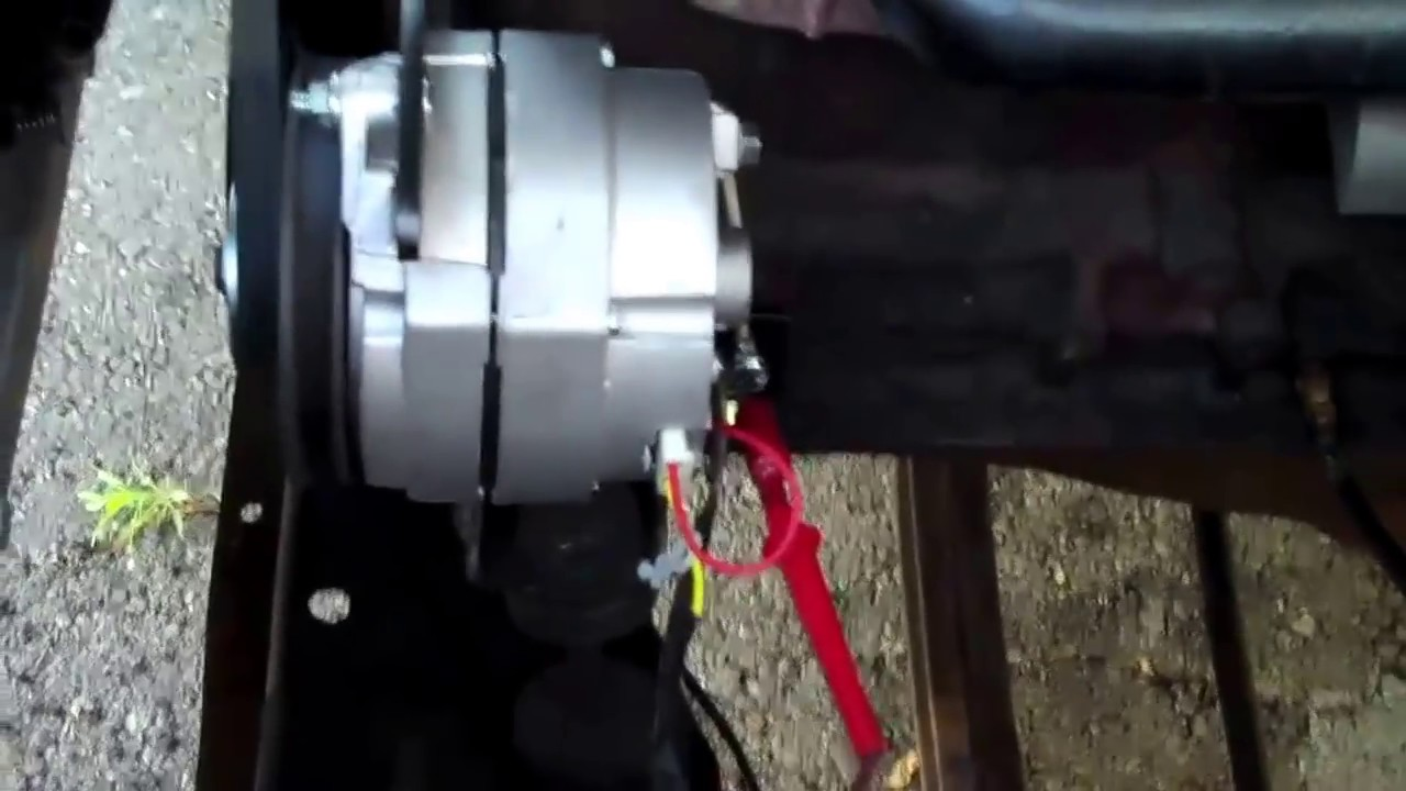 generator to alternator coversion youtube rh youtube com
