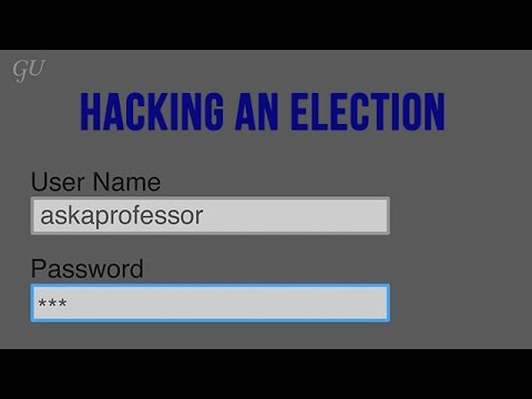 Can an election be hacked?
