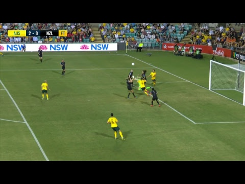 International Women's Football: Cup Of Nations - Australia V New Zealand