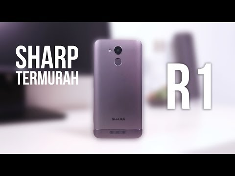 HANDS ON SHARP R1 INDONESIA!