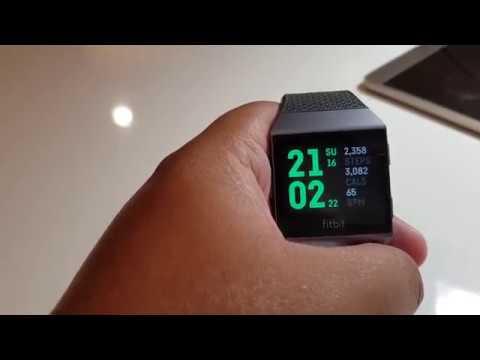 รีวิว Fitbit ionic Smart watch เพื่อสุขภาพ