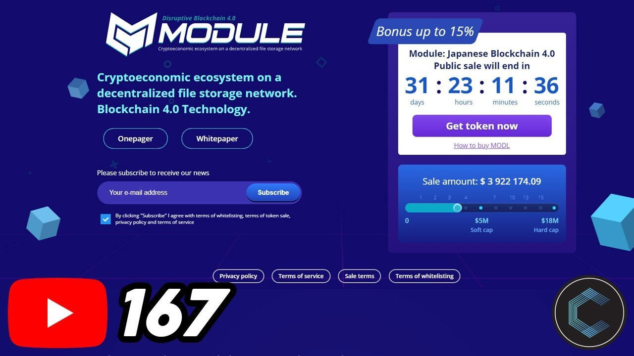 Sell Extra Storage on Your Phone with MODULE - ICO now LIVE - What is MODULE Blockchain & MODL