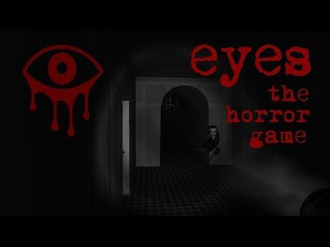 Первый раз хоррор-игра Eyes.