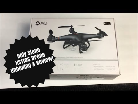 Holy Stone HS110G Drone Unboxing & Review