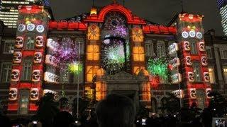 20121221東京ミチテラス2012  PART-1 TOKYO HIKARI VISION