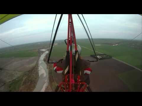 Ultralight Flying - Volo Su Deltaplano A Motore Biposto - GoPro