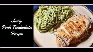 Juicy Pork Tenderloin Recipe   Gluten + Lactose Free & Low Fodmap Friendly