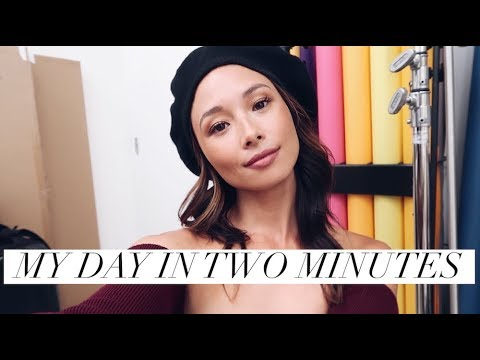 My Day In Two Minutes  A Day In My Life August 2018  Aja Dang