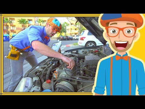 Thumbnail: Blippi the Handyman | Videos for Kids – Fixing things with Tools
