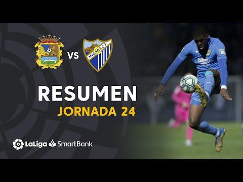 la liga highlights Resumen de CF Fuenlabrada vs Málaga CF (0-0)