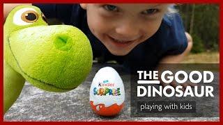 Kinder Egg Hunt with Talking Toy Plush Arlo - Episode 4