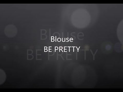 BE PRETTY video