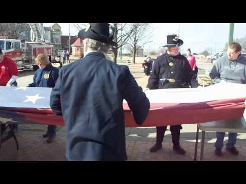 Ft Scott, KS Patriot Flag 2011