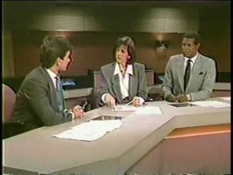 WCBS-TV New York - Channel 2 News Saturday (September 10th, 1988)