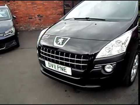 2011 11 peugeot 3008 1 6 sport hdi 5dr automatic youtube. Black Bedroom Furniture Sets. Home Design Ideas