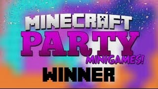 Minecraft Party contest - winner