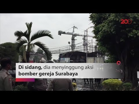 Kecaman Aman Abdurrahman ke Bomber Gereja Surabaya