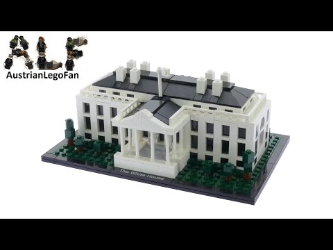 Lego Architecture 21006 The White House - Lego Speed Build Review