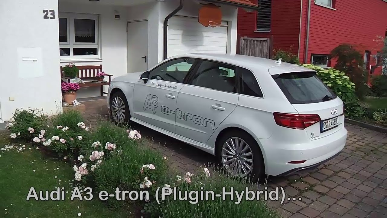 audi a3 e tron rundgang walkthrouth e auto 2018 youtube. Black Bedroom Furniture Sets. Home Design Ideas