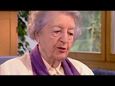 Elisabeth Sigmund, Mitbegründerin der Dr. Hauschka Kosmetik, im Interview