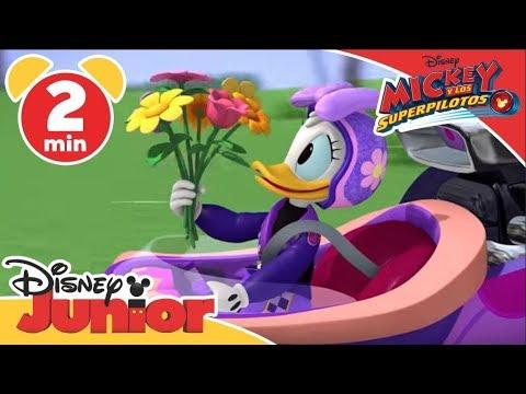 Mickey y los Superpilotos: Bólidos a Punto | Disney Junior Oficial