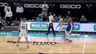 LaMelo Ball Caught Embiid Slippin' At The End Of The Game