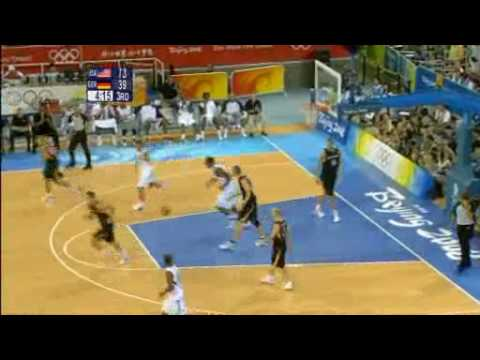 Beijing 2008 Olympic Games Basketball USA - Germany Mix
