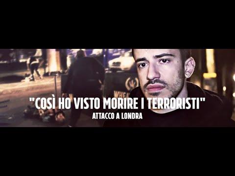 """Attacco Londra 3 giugno, il reporter Gabriele Sciotto: """"Ho visto morire i terroristi"""""""