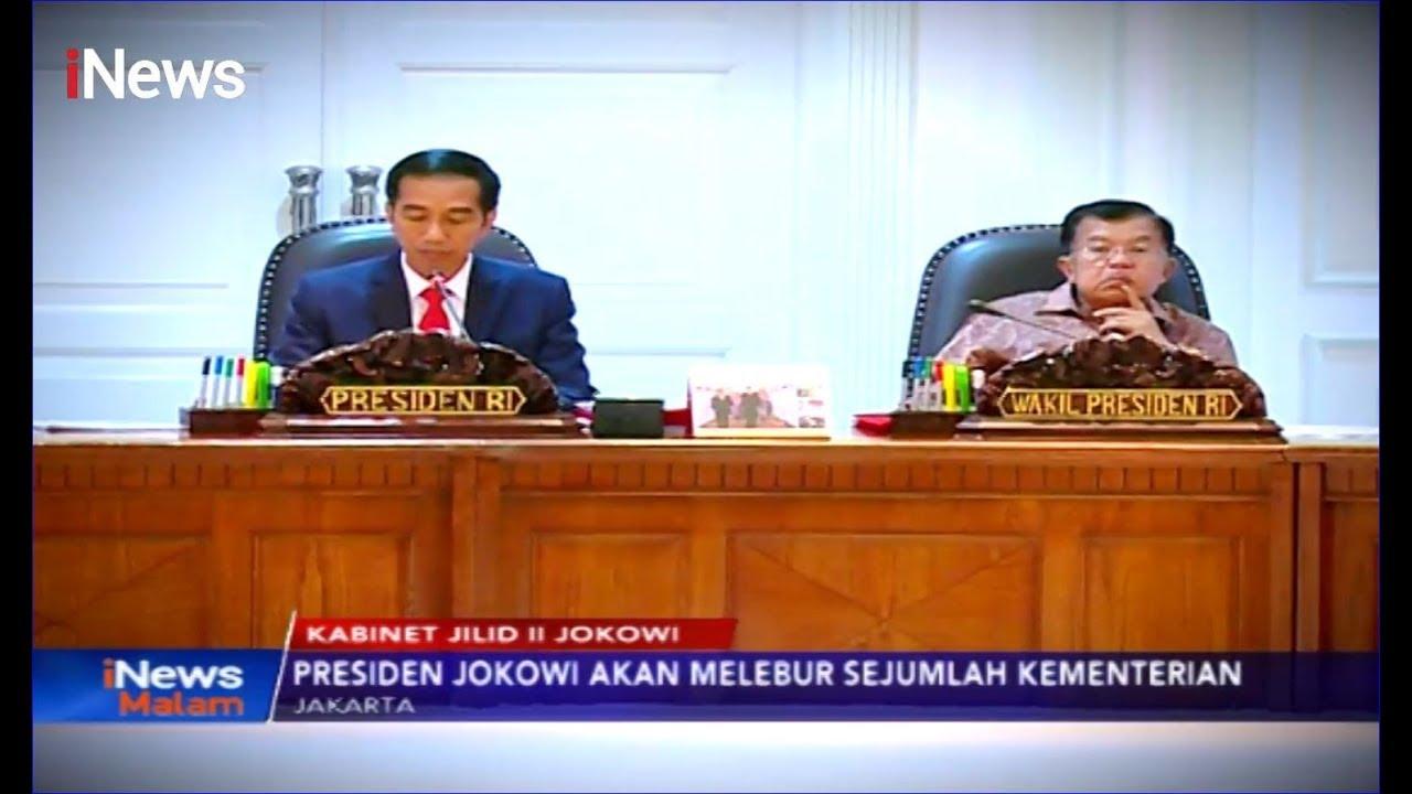 Kabinet Jilid II, Jokowi Disebut Bentuk Kementerian dan Lembaga Baru - iNews Malam 07/10