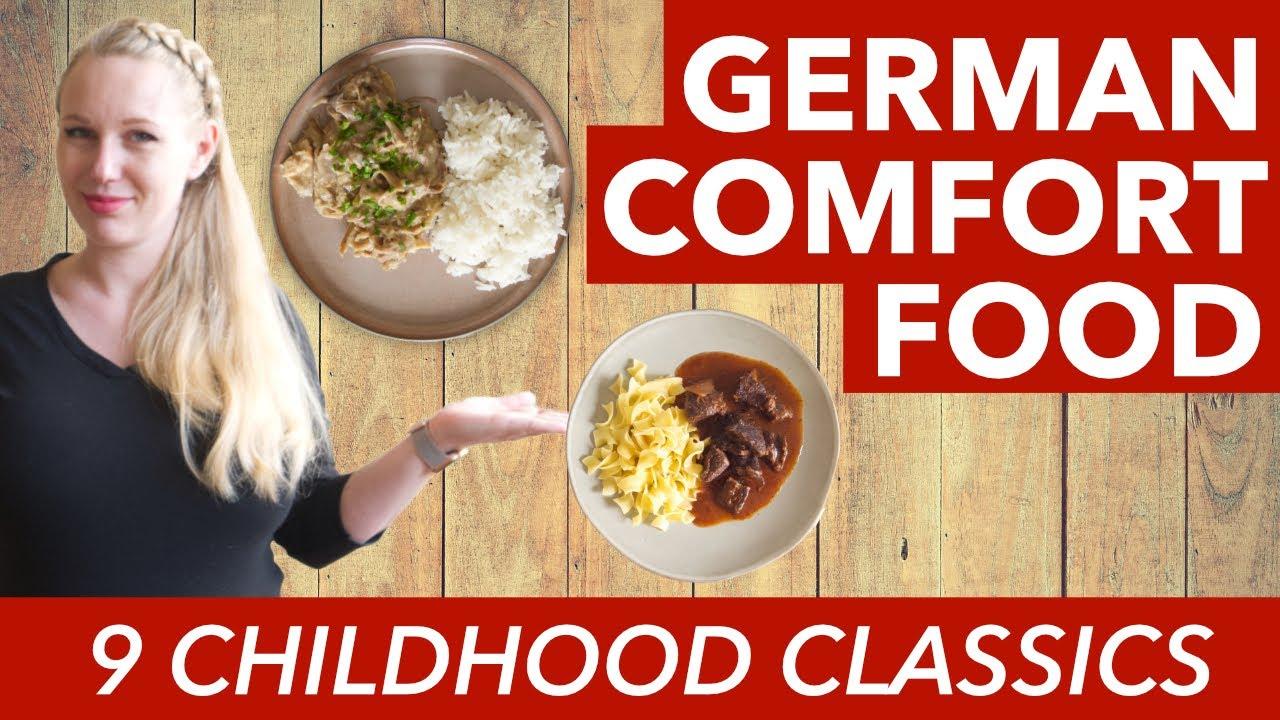 Comfort Food in Germany - Our German Comfort Food - 9 German Childhood Dishes