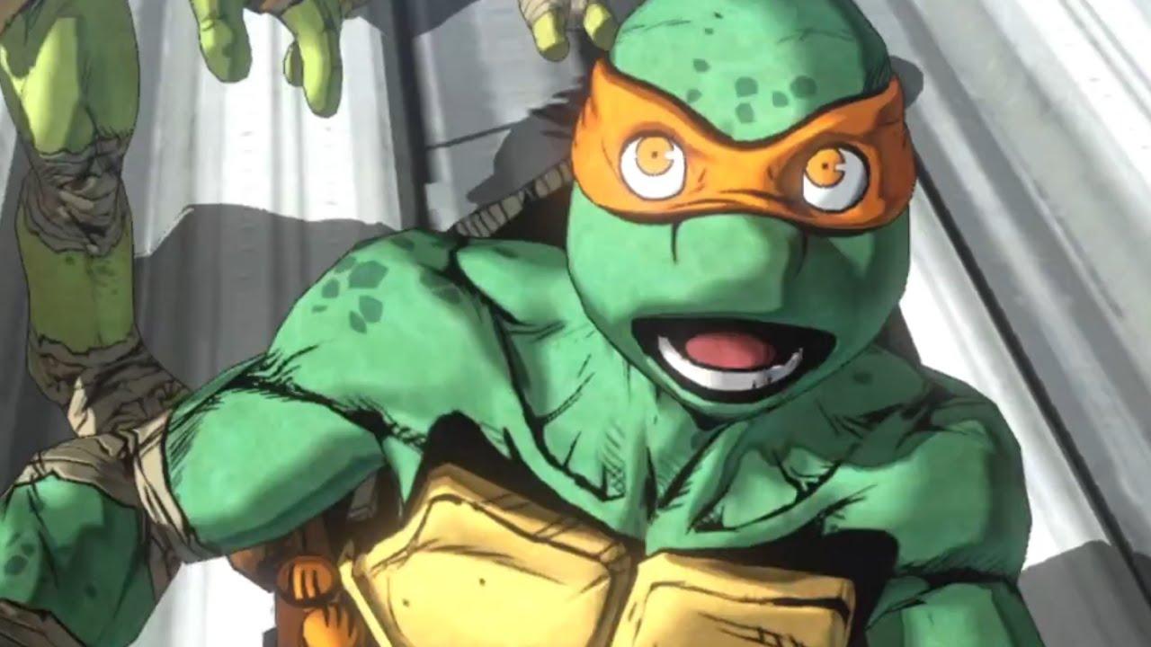 Teenage Mutant Ninja Turtles Mutants In Manhattan Debut Trailer PS4 PS3 Xbox One Xbox 360