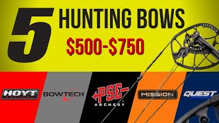 2020 Mid-Priced Hunting Bow Review | Hoyt Powermax, PSE Drive, Bowtech, Mathews Mission, Prime Quest