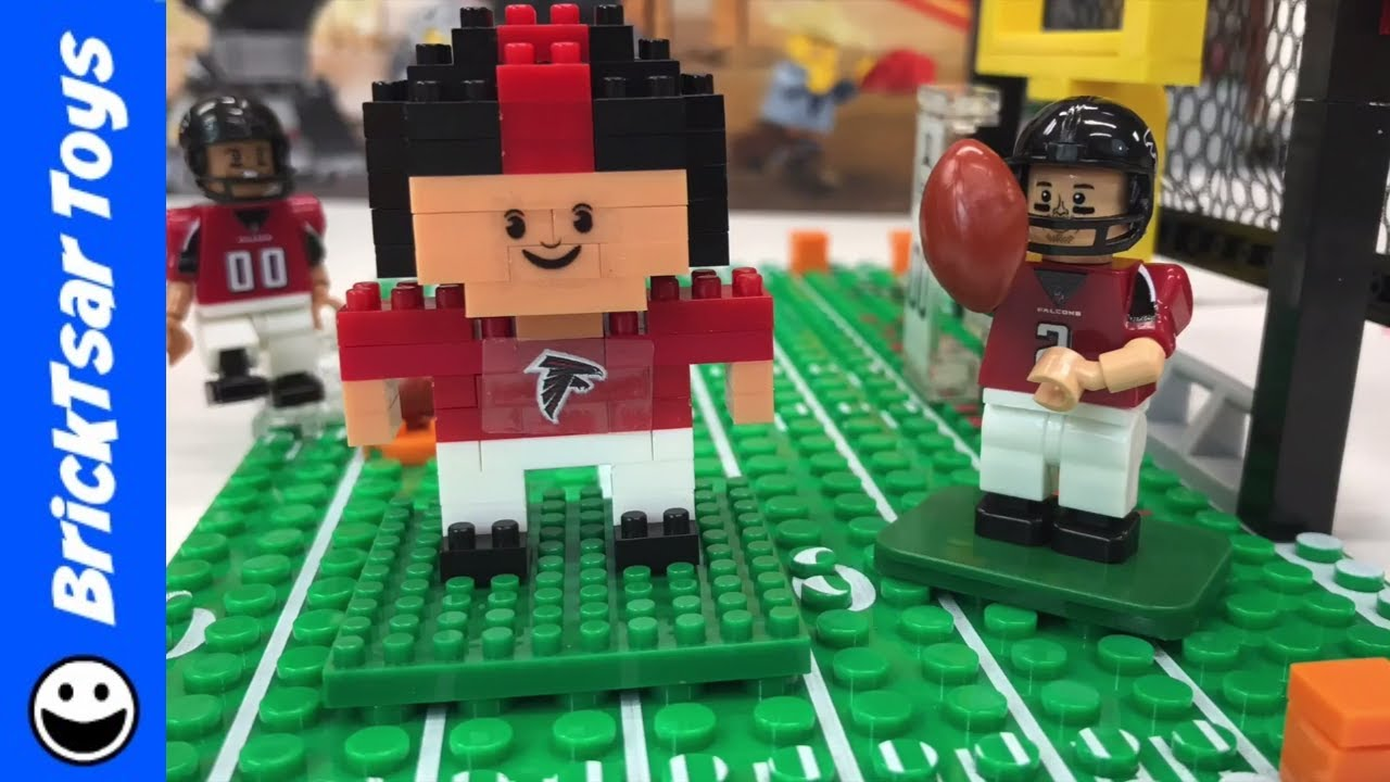 ATLANTA FALCONS NFL FOOTBALL OYO Bricks and BRXLZ Player - YouTube 224dbab09